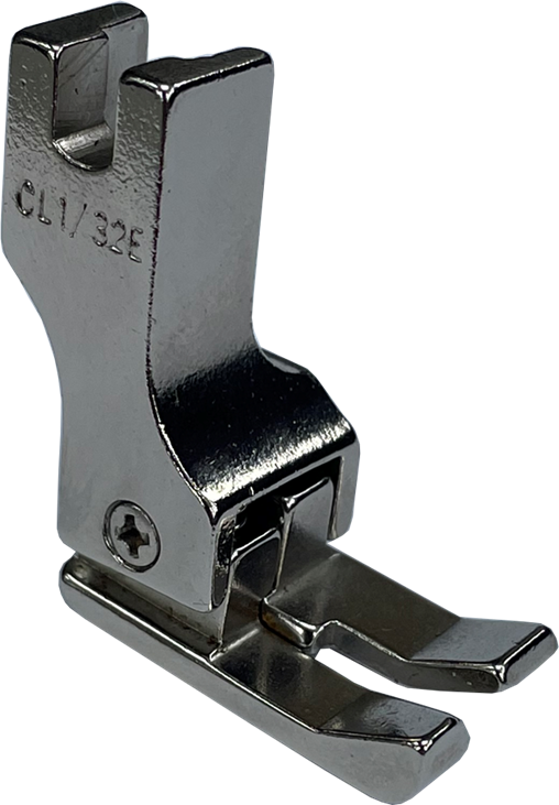 Single Needle Left Compensating Presser Foot - CL 1/32