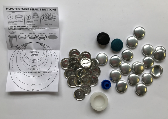 Cover Buttons With Making Tool Kit| Dressmaking, Sampling, Tailoring