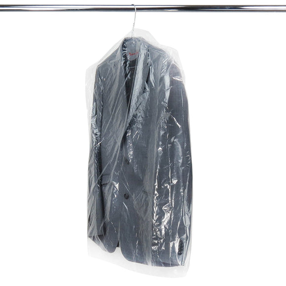 Garment cover on a roll keeps dresses, jackets, coats, shirts, suits, trousers clean fresh and dust free