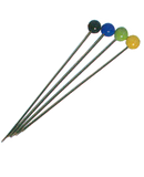 Glass Headed Dress Pins | Craft, Tailoring, Designing, Dressmaking, Sewing