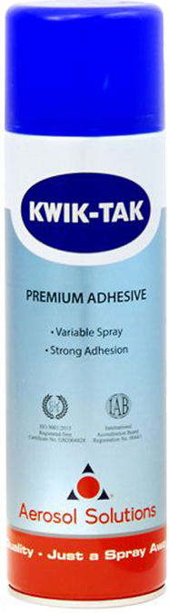 Kwik Tak Heavy Duty Adhesive Spray, Carpet, Upholstery, Laminating, Craft