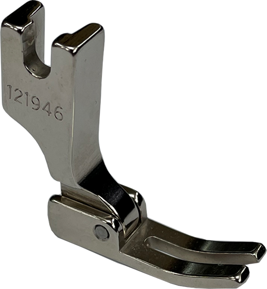 Single Needle Double Toe Medium Lockstitch Zipper Presser Foot -121946
