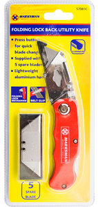Quick Release Folding Lock Utility Knife | Stanley Blades | Packaging, Boxes, Craft, DIY