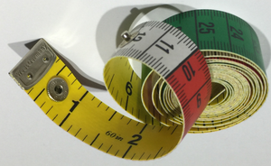 Nita Lock Tape Measure Metric on one side and Imperial on the reverse