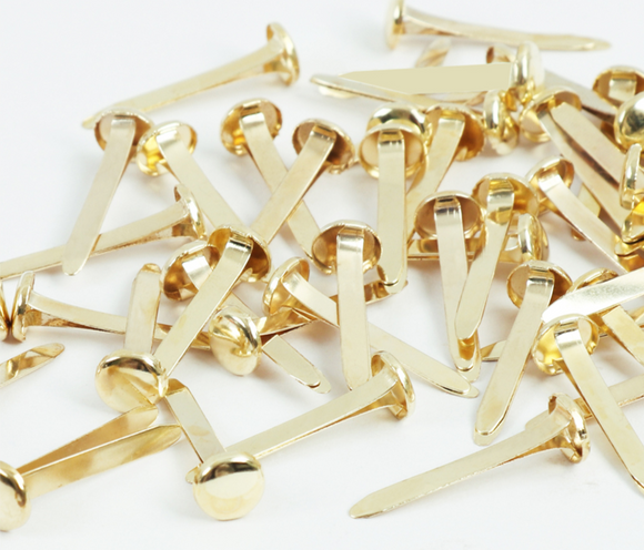 Brass Colour Paper Butterfly Fasteners Secure Papers And Documents