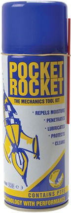 Pocket Rocket Penetrating Lubricant, Moisture Repellent, Rust release