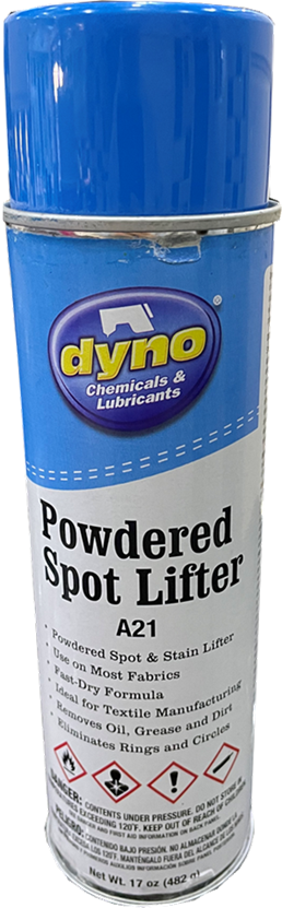 Powdered Spot And Stain Lifter - Suitable For Most Fabrics A21 by Dyno