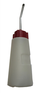 Rigid Plastic Oil Bottle with Nozzle Spout For Easy of application