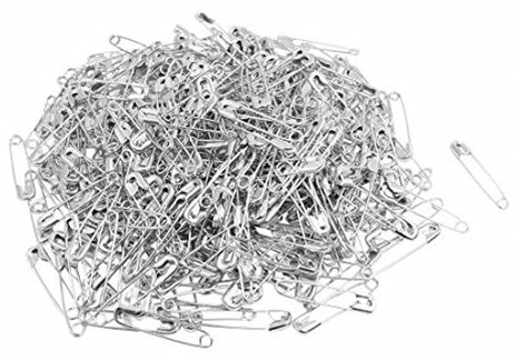 Steel Safety Pins | Quilting, Craft, Patchwork, manufacturing, badges