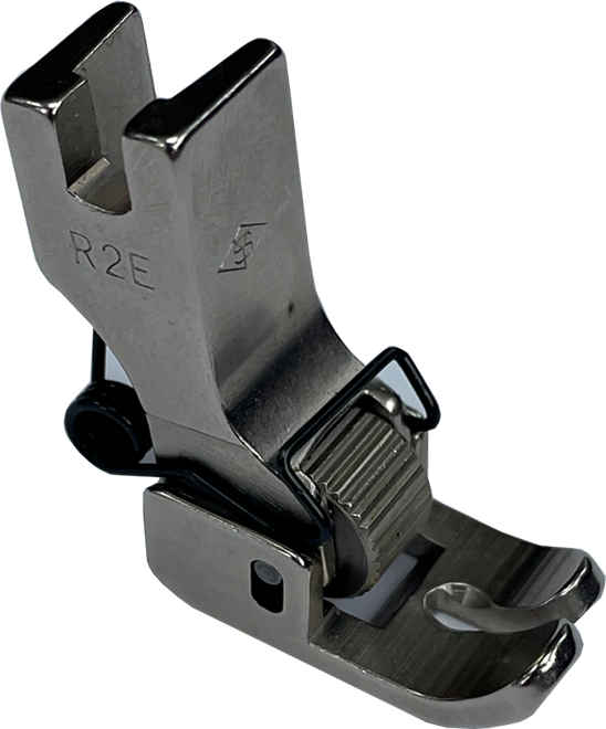 Single Needle Spring Action Roller Presser Foot - R2E