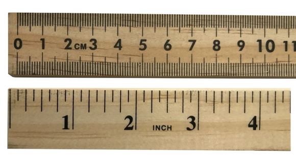 Wooden Metre Stick Ruler | Designing, Cutting, Dressmaking Tailoring, Sampling