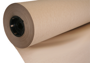 Kraft underlay used in cutting rooms. Used by clothing, upholstery, carpet and car manufacturers