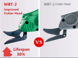 Heavy Duty Portable Electric Scissors WBT-2 for Industrial or Domestic Use  Anti Fatigue, quick, durable
