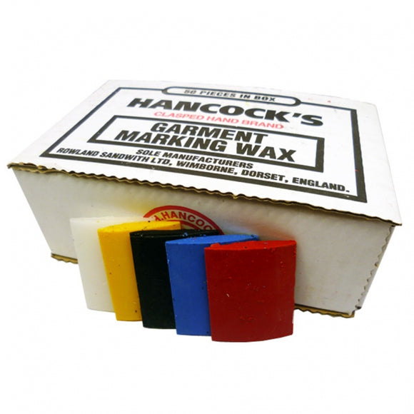 Box of 50 Hancock's Garment Marking Wax