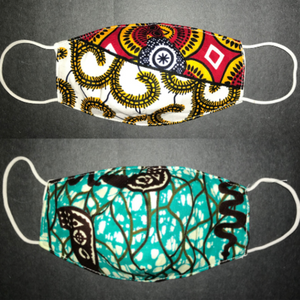 Adaeza African Print Children's Face Mask