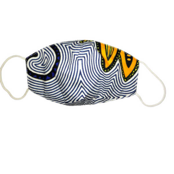 Kids African print Face mask