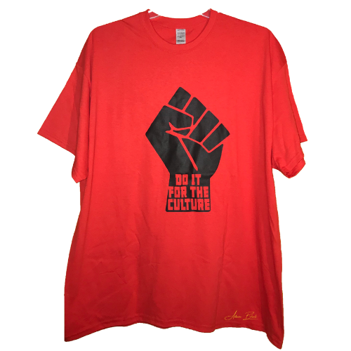 Black Fist Do It For The People T-shirt ✊🏿