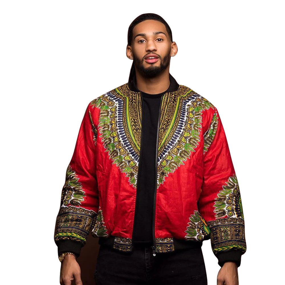 Cool African Dashiki Jacket For Men