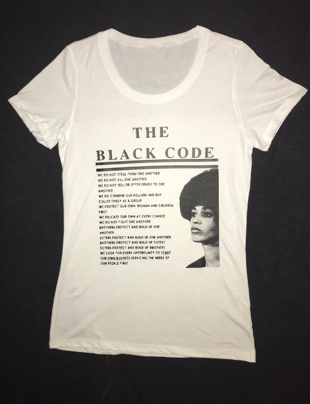 Angela Davis Custom Order Free-ish T-Shirts For Men and Woman
