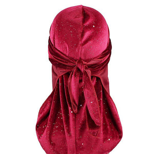High-Quality 360 Wave Cap Silky Durags and Velvet Du-Rags