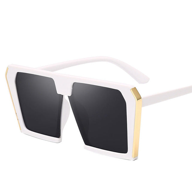 Vintage Big Square Sunglasses Women 2020 Oversized Luxury Brand Cat eye Sun Glasses UV400