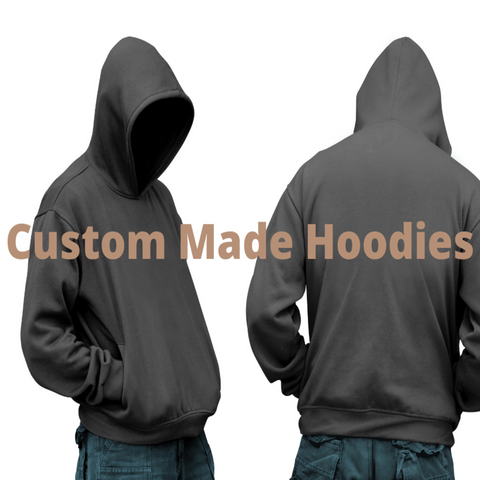 Custom Made Hoodies Reflective Puffy and/ or Standard Prints Bass Boy Audio Car