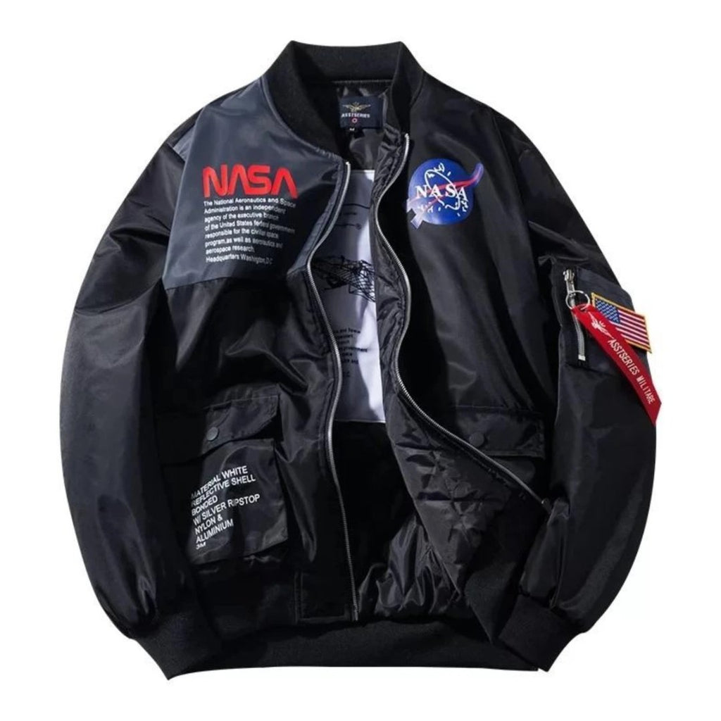 NASA Lightweight Flight Bomber Jacket