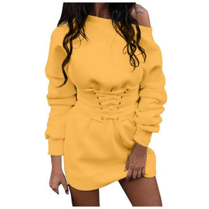 sweater hoodie dress