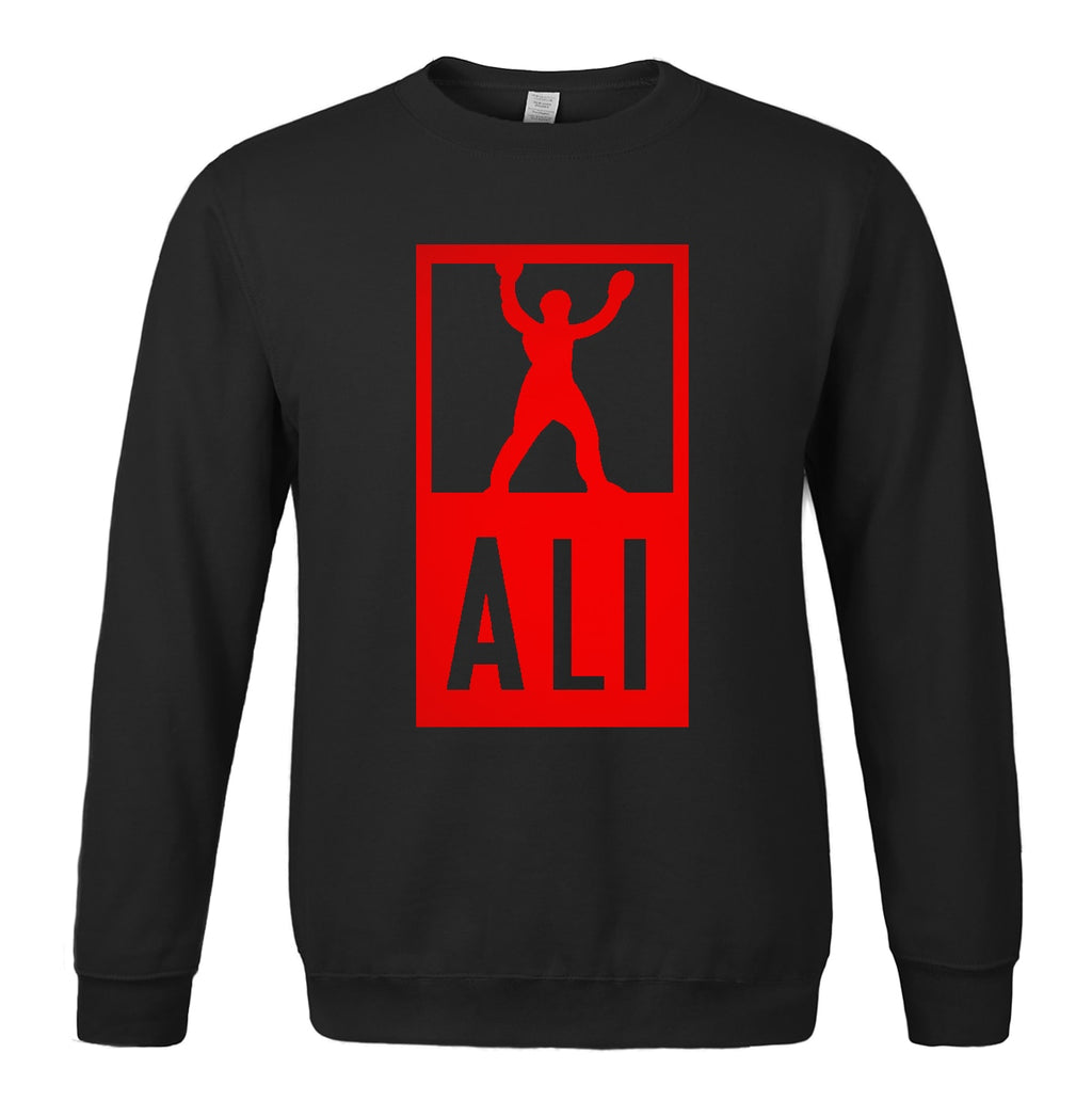 "Men""s Boxer ALI Sweatshirt Casual Warm Fleece"
