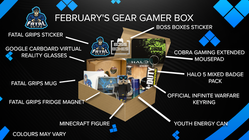 February's Gear Gamer Box