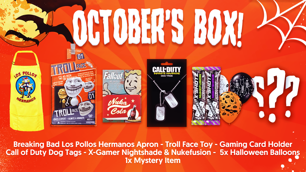 October's Halloween Box