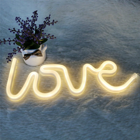 Néon LOVE LED