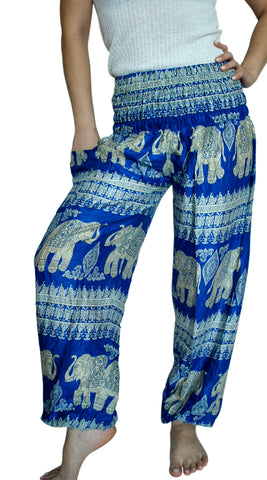 Devi Royal Blue Harem Elephant Pants