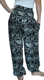 Maharaja Black Harem Elephant Pants