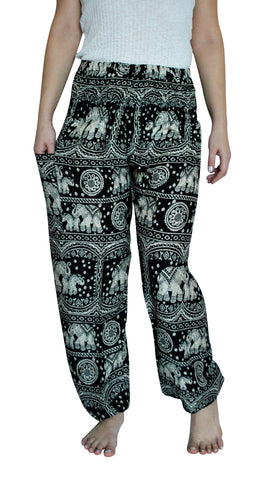 Karuna Black Harem Elephant Pants