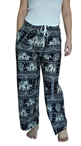 Karuna Navy Blue Elephant Loungers