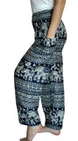 Mantra Navy Blue Harem Elephant Pants