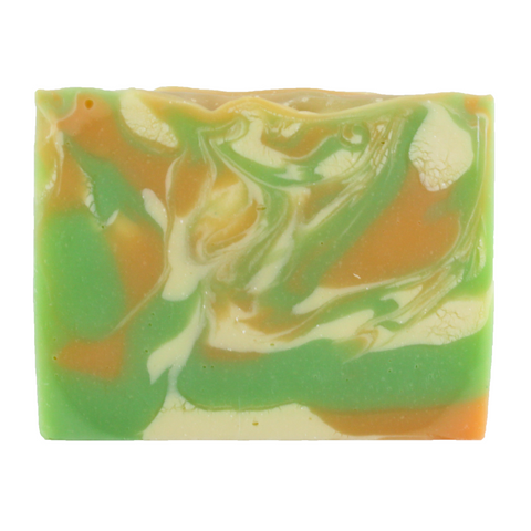 Olive and Coconut Oil Tangerine Lime Soap