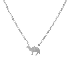 Load image into Gallery viewer, Origami Camel Necklace