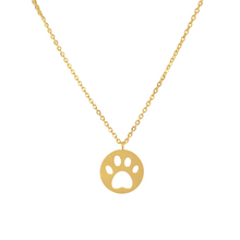 Load image into Gallery viewer, Paw Print Necklace