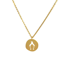 Lade das Bild in den Galerie-Viewer, Penguin Coin Necklace