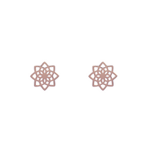 Load image into Gallery viewer, Mandala Stud Earrings