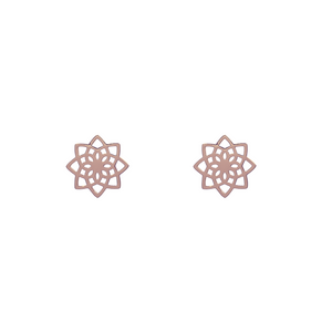 Mandala Stud Earrings