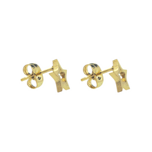 Load image into Gallery viewer, Open Star Stud Earrings