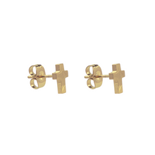 Load image into Gallery viewer, Cross Stud Earrings