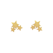 Load image into Gallery viewer, Star Cluster Stud Earrings