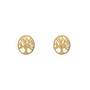 Tree of Life Stud Earrings