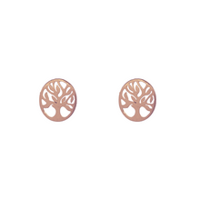 Load image into Gallery viewer, Tree of Life Stud Earrings