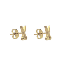 Load image into Gallery viewer, Scissors Stud Earrings