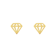 Lade das Bild in den Galerie-Viewer, Diamond Stud Earrings